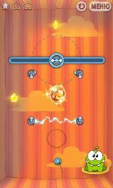 Cut the Rope Android Slide the candy, avoid the electricity