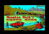 Mountie Mick's Deathride Amstrad CPC Loading screen