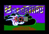 BreakThru Amstrad CPC Title screen and credits