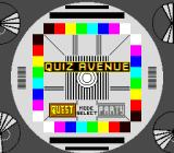 Quiz Avenue TurboGrafx CD Title screen