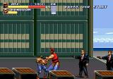 Streets of Rage 3 Genesis Secret character Ash; only available in japanese version