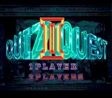 Quiz Avenue II TurboGrafx CD Title screen of the quest mode