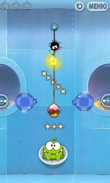 Cut the Rope Android Tricky blowing coupled with that pesky spider