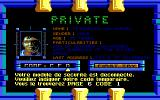 "Golden Eagle DOS ""Doc Check"" on terminal (EGA) (in French)"