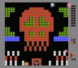 Battle City NES Skull level