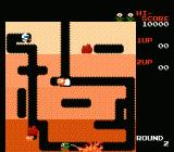 Dig Dug NES Watch out for the fire