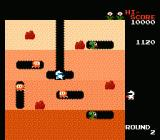 Dig Dug NES Level 2