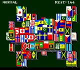 Dragon's Eye Plus Shanghai III TurboGrafx CD National flags. Look, Israel is there! :)