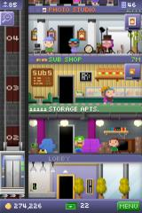 Tiny Tower iPhone Hey you! Yeah, you in the green overalls. Don't I know you from some other game?