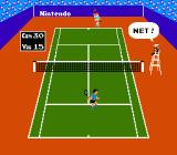 Tennis NES Hit the net
