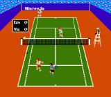 Tennis NES Doubles play