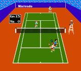Tennis NES More doubles play