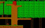 Bionic Commando DOS Climbing by rope (CGA)