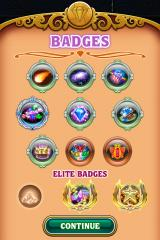 Bejeweled 3 iPhone Earned badges