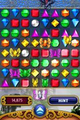 Bejeweled 3 iPhone Butterfly mode