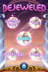 Bejeweled 3 iPhone Main menu version 1.1
