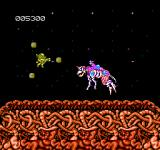 Abadox: The Deadly Inner War NES The first boss creature
