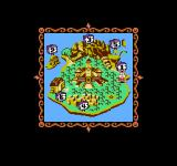 Tiny Toon Adventures NES Map showing your progress