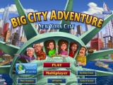 Big City Adventure: New York City iPad Title / Main menu