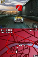 Asphalt: Urban GT Nintendo DS Wrong way!