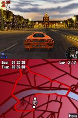 Asphalt: Urban GT Nintendo DS Your races will take you through some nice scenery.