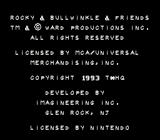 The Adventures of Rocky and Bullwinkle and Friends SNES Intro Credits