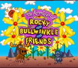The Adventures of Rocky and Bullwinkle and Friends SNES Title screen