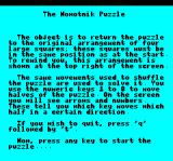 Nowotnik Puzzle Oric Instructions part 3