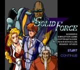 Solid Force TurboGrafx CD Title screen