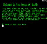 House of Death Oric Instructions part 1