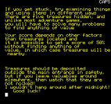 House of Death Oric Instructions part 3