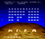 Space Invaders TurboGrafx CD Action!