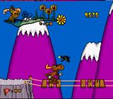 The Adventures of Rocky and Bullwinkle and Friends SNES A tense moment