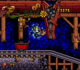 The Adventures of Rocky and Bullwinkle and Friends SNES Cart level: You can jump out...