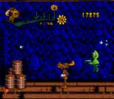 The Adventures of Rocky and Bullwinkle and Friends SNES Boss: Twin aliens