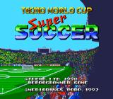 Tecmo World Cup Super Soccer TurboGrafx CD Title screen