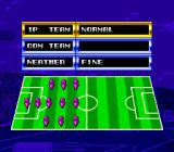 Tecmo World Cup Super Soccer TurboGrafx CD Some basic tactics and options