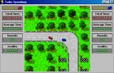 Turbo Speedway Windows 3.x Driving isn't as easy as it seems