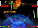 Plasma Sword: Nightmare of Bilstein Dreamcast Sending the opponent through the air