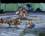 Three Dirty Dwarves SEGA Saturn Boss fight