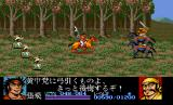 Dynasty Wars TurboGrafx CD Boss battle against two riders