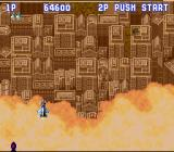 Aero Fighters SNES Level 2 begins majestically