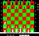 Chess Oric Kind computer, saying what move it is thinking about.