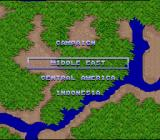 Air Cavalry SNES Mission select