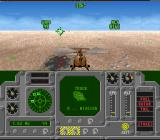 Air Cavalry SNES A smoldering crater