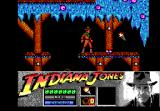Indiana Jones and the Last Crusade: The Action Game DOS Level 1 - A torch is nearby.