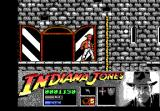 Indiana Jones and the Last Crusade: The Action Game DOS Level 2 - On a castle window ledge.