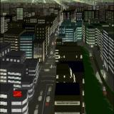 Yami no Ketsuzoku: Kanketsu-hen Sharp X68000 Nice view of a big city