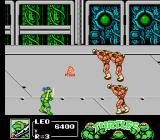 Teenage Mutant Ninja Turtles III: The Manhattan Project NES The last part of spaceship level