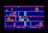 Booty Amstrad CPC Some treasures hide bombs.
